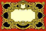 Baroque Frame Vintage 2D