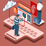 Bio Password 01 Concept Isometric