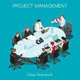 Business 03 People Isometric