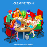 Business 10 People Isometric