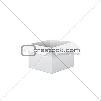 Box vector illustration.