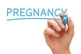 Pregnancy Blue Marker