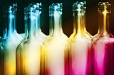 Rainbow Bottle Row