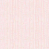 Hand drawn seamless rose and white irregular dotted line texture