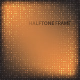 Set of Modern Flat Halftone Backgrounds, vector illustration