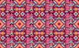 Decorative geometric pattern in tribal style