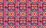 Decorative geometric pattern in tribal style