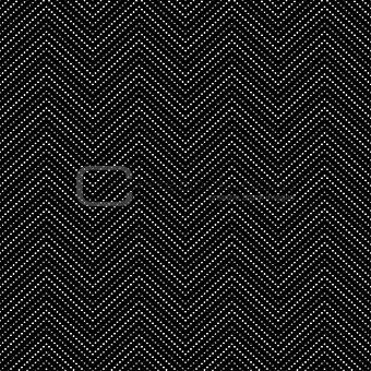 Black dotted decorative pattern