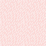 Hand drawn seamless rose and white rain texture