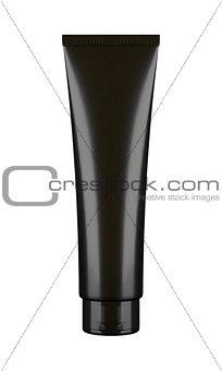 Black tube mockup