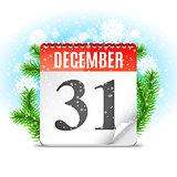New Year Day Calendar