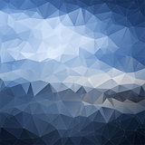 Abstract polygonal background. Background