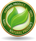 Natural product eco friendly website icon