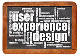 user experience design concept