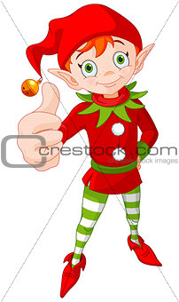 Thumb Up Christmas Elf