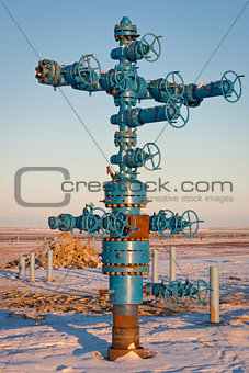 Fountain gas fittings natural gas production