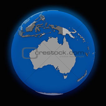 Australia on political Earth