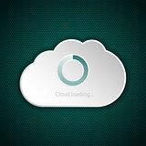 Cloud interface loading screen