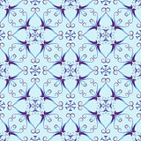 Blue christmas pattern