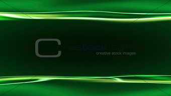 green background with light streaks