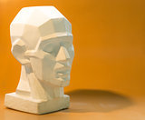 Tutorial primitive plaster head model.