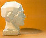 Tutorial primitive plaster head model.