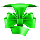 Big green bow