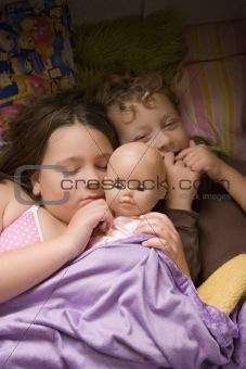 Sleepy three