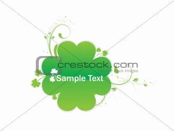 Four Leaf Clover Vector Illustration