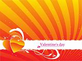 vector valentines day background