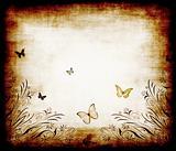 butterfly grunge