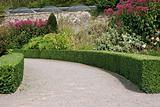 Curved Garden Pathway