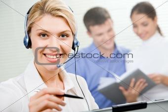 Attractive  consultant