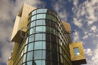 Bling Bling building, Liverpool, UK