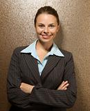 Businesswoman portrait.