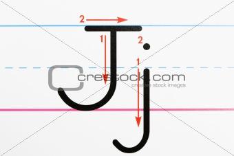 Alphabet practice.