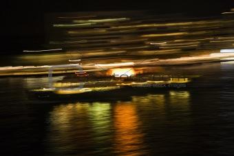 Blurred lights Sydney, Australia