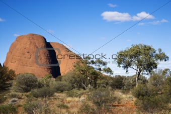 Australia rock formation