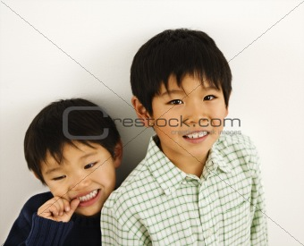 Asian boys portrait