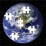 Earth Puzzle from NASA Photo