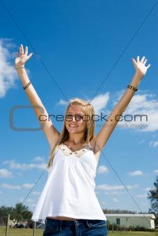 Blond Teen Freedom
