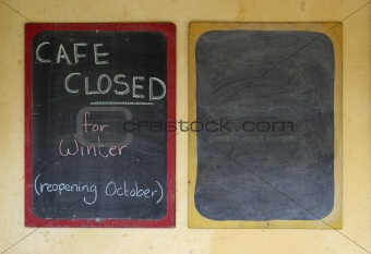 Cafe Closed