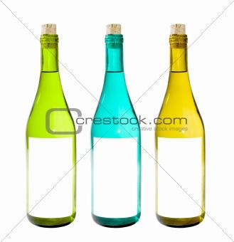 Bottles Isolated