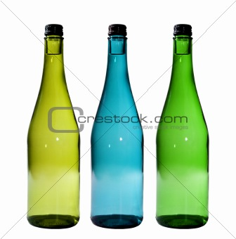 Bottles Isolated