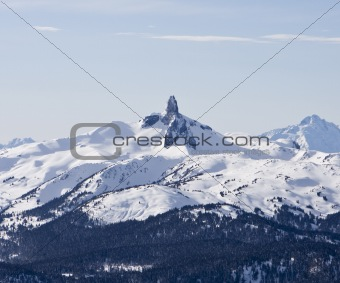Black Tusk Mountain