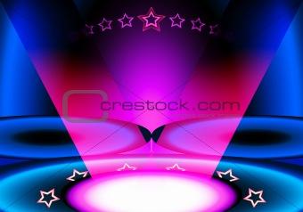 all stars club scene