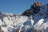 Chamonix mountains