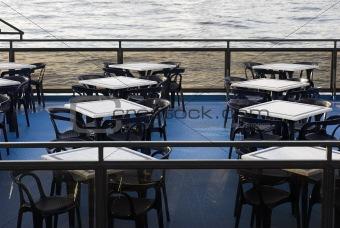 Café on boat