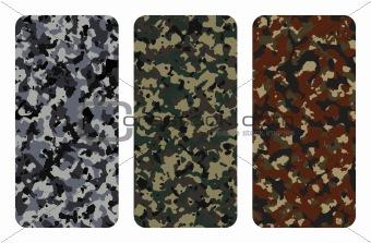 Camouflage textures