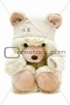 Bandaged Teddy